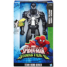 Buy Marvel Ultimate Spider-Man Quick-Talking Agent Venom Online at johnlewis.com