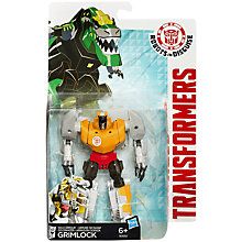 Buy Transformers Robots in Disguise Grimlock Figure Online at johnlewis.com