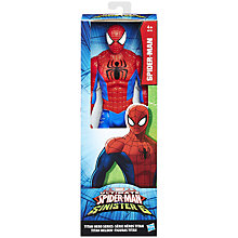 "Buy Spider-Man Titan Hero Series 12"" Action Figure Online at johnlewis.com"