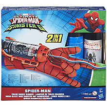 Buy Spider-Man Colour Shock Slinger Online at johnlewis.com