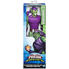 Buy Spider-Man Titan Hero Series Green Goblin Online at johnlewis.com