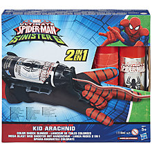 Buy Spider-Man Kid Arachnid Colour Shock Slinger Online at johnlewis.com