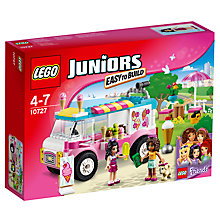 Buy LEGO Juniors Emma's Ice Cream Truck Online at johnlewis.com