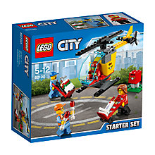 Buy LEGO City Airport Starter Set Online at johnlewis.com