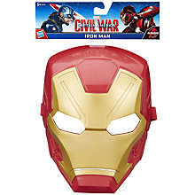 Buy The Avengers Iron Man Mask Online at johnlewis.com