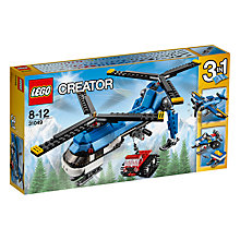 Buy LEGO Creator Twin Spin Helicopter Online at johnlewis.com
