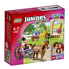 Buy LEGO Friends 10726 Steph's Horse Carriage Online at johnlewis.com