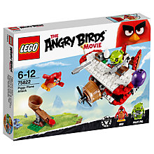 Buy LEGO Angry Birds 75822 Piggy Plane Attack Online at johnlewis.com