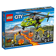 Buy LEGO City 60123 Supply Helicopter Online at johnlewis.com