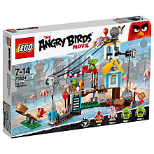 Buy LEGO Angry Birds Pig City Teardown Online at johnlewis.com