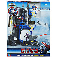 Buy The Avengers Captain America Civil War Bunker Playset Online at johnlewis.com
