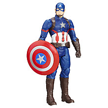 Buy Marvel Captain America Civil War Titan Hero Series Electronic Action Figure Online at johnlewis.com