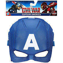 Buy The Avengers Captain America Mask Online at johnlewis.com