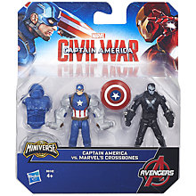 "Buy Marvel Captain America Civil War 2.5"" Team Figurines Online at johnlewis.com"