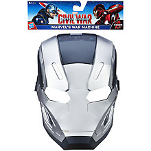 Buy The Avengers War Machine Mask Online at johnlewis.com