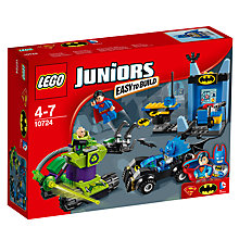 Buy LEGO Juniors 10724 Batman & Superman vs Lex Luthor Online at johnlewis.com