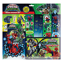 Buy Spider-Man Mega Sticker Set Online at johnlewis.com