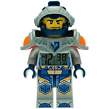 Buy LEGO Nexo Knights Clay Alarm Clock Online at johnlewis.com