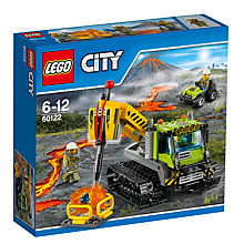 Buy LEGO City Volcano Crawler Online at johnlewis.com
