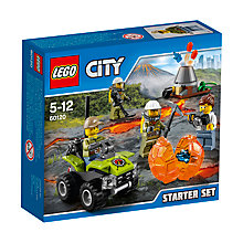Buy LEGO City 60120 Volcano Starter Set Online at johnlewis.com
