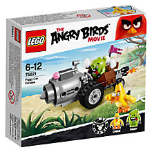 Buy LEGO Angry Birds 75821 Piggy Car Escape Online at johnlewis.com