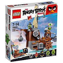 Buy LEGO Angry Birds Piggy Pirate Ship Online at johnlewis.com