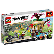 Buy LEGO Angry Birds 75823 Bird Island Egg Heist Online at johnlewis.com