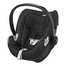 Buy Cybex Aton Q Group 0+ Baby Car Seat, Happy Black Online at johnlewis.com