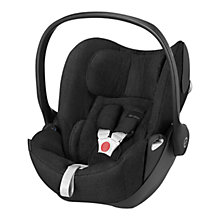 Buy Cybex Cloud Q Group 0+ Baby Car Seat, Happy Black Online at johnlewis.com