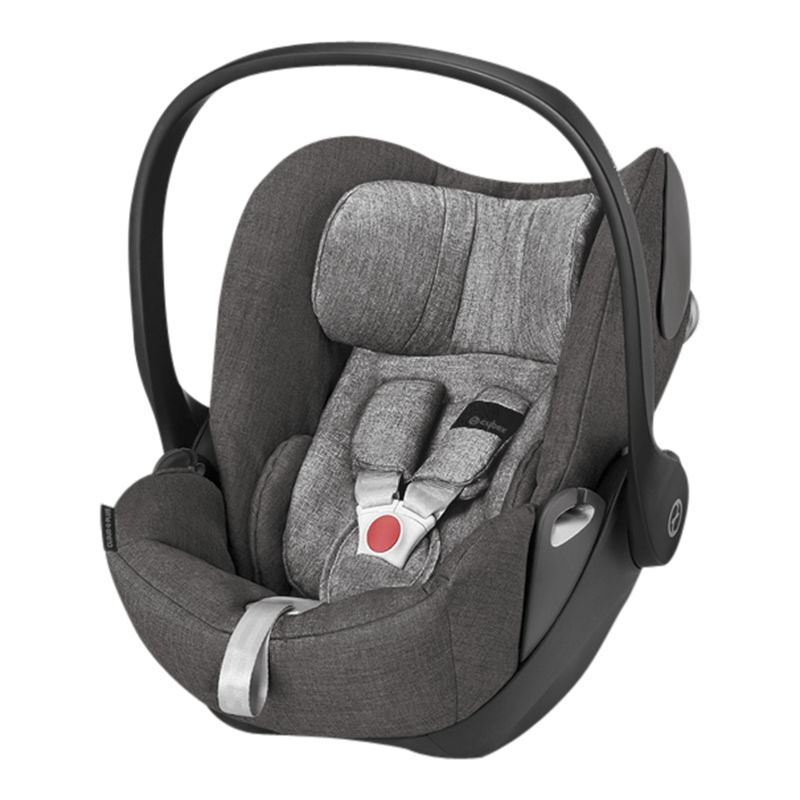 Cybex Cybex Cloud Q Group 0+ Baby Car Seat, Manhattan Grey Lux Fabric