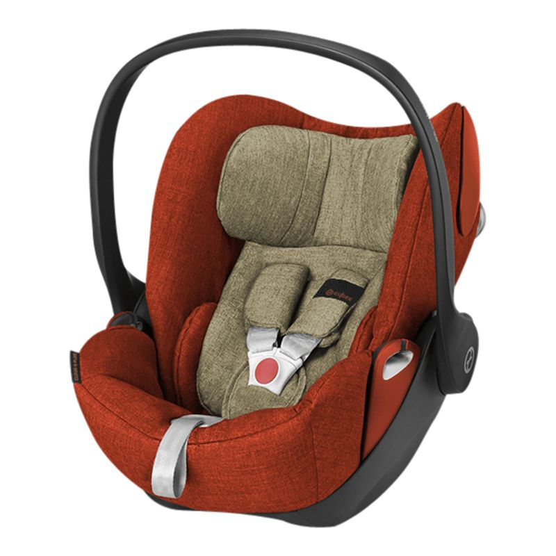 Cybex Cybex Cloud Q Group 0+ Baby Car Seat, Autumn Gold Lux Fabric