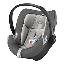 Buy Cybex Aton Q Group 0+ Baby Car Seat, Manhattan Grey Online at johnlewis.com