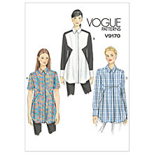 Buy Vogue Women's Tops Sewing Pattern, 9170 Online at johnlewis.com