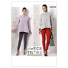 Buy Vogue Women's Shirts and trousers Sewing Pattern, 9174 Online at johnlewis.com