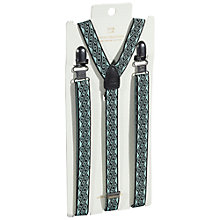 Buy Scotch & Soda Jacquard Braces, One Size, Blue Online at johnlewis.com