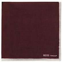 Buy Reiss Crespa Wool Pocket Square Online at johnlewis.com