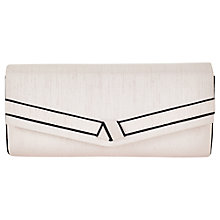 Buy Jacques Vert Knot Detail Clutch Bag, Light Pink Online at johnlewis.com