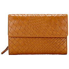 Buy Collection WEEKEND by John Lewis Rosa Weave Leather Coin Purse Online at johnlewis.com