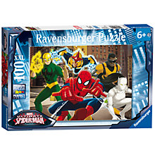 Buy Ravensburger Marvel Ultimate Spiderman XXL Puzzle, 100 Pieces Online at johnlewis.com