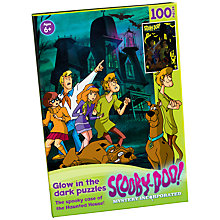 Buy Scooby Doo Haunted House Glow In The Dark Puzzle Online at johnlewis.com