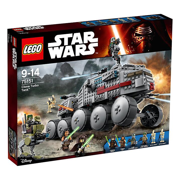 Buy LEGO Star Wars 75151 Clone Turbo Tank Online at johnlewis.com