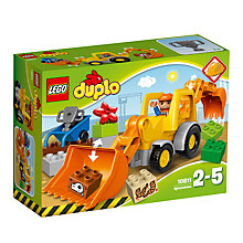 Buy LEGO Duplo Backhoe Loader Online at johnlewis.com