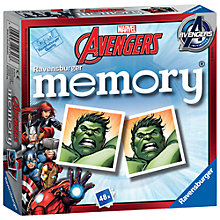 Buy Marvel Avengers Mini Memory Game Online at johnlewis.com