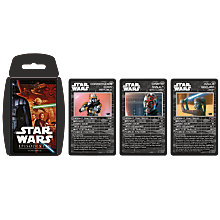 Buy Top Trumps Star Wars Episodes I-III Pack Online at johnlewis.com