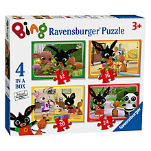 Buy Bing Bunny Jigsaw Puzzle 4 In A Box Online at johnlewis.com