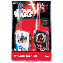 Buy Star Wars The Force Awakens Walkie Talkies Online at johnlewis.com