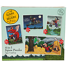 Buy Paul Lamond Games 4-In-1 Room on the Broom Puzzles Online at johnlewis.com
