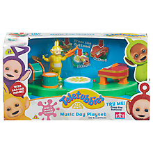 Buy Teletubbies Music Day Playset Online at johnlewis.com