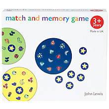 Buy John Lewis Memory Game Online at johnlewis.com