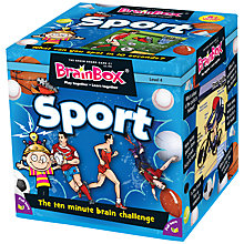 Buy BrainBox Sports Ten Minute Challenge Game Online at johnlewis.com